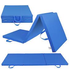 Thick Soft Tri-Fold Panel Pilates Fitness Exercise Mat Gymnastics Comfort Mat