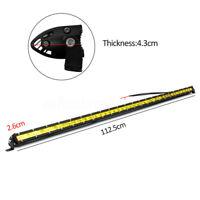 44Inch LED Work Light Bar Spot Flood Combo Beam Off Road Driving Car Truck  F