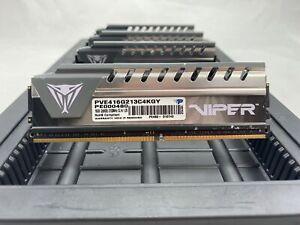 LOT 4 PATRIOT PVE416G213C4KG 8GB DDR4 PC4-2133 17000 HS NON ECC DIMM MEMORY RAM