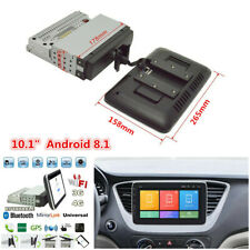 "1Din 10.1"" Android 8.1 Quad Core Car Radio In-Dash Stereo GPS Wifi 3G/4G Player"