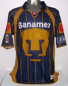LOTTO PUMAS UNAM MEXICO 2003 LFP BELTRAN L ORIGINAL JERSEY SHIRT