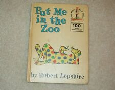 Put Me in the Zoo by Robert Lopshire (1960, Hardcover, Prebound)