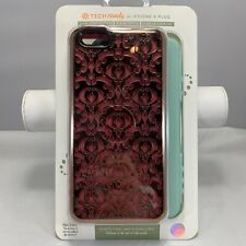 Tech Candy Iphone 6 Plus Dual Protection Phone Case Rose, Rose Gold, Light Mint