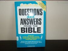 Questions and Answers from the Bible by A Barbour Book 1988