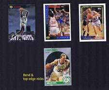 Dee BROWN, Jim LES, Larry BIRD, Jim Jackson - BASKETBALL CARD LOT #5