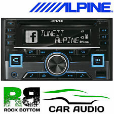Alpine cde-w296bt Cd Mp3 Aux Usb Bluetooth Ipod Iphone coche estéreo reproductor de radio