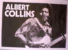 ALBERT COLLINS - AFFICHE ORIGINALE – TRES RARE – CIRCA 1970