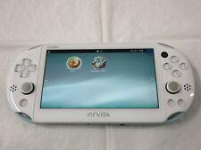E690 Sony PS Vita PCH-2000 console White x Ice Blue Handheld system PSV x