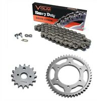 Volar Chain and Sprocket Kit Heavy Duty for 1980 Honda Hawk 400 CB400T