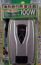 Kashimura TI-1002 Down Transformer From 220-240V To 100V 100W  Japanese item