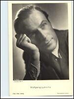~1960 Postkarte Kino Theater Film Foto Verl. Actor Schauspieler Wolfgang Lukschy