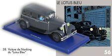 La limousine en route vers Nanking du Lotus Bleu. #38 Atlas En Voiture Tintin