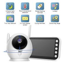 "4.3"" Wireless Digital Baby Monitor with  TWIN CAMERA 2 way night talk"