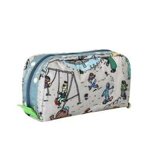 LeSportsac Sesame Collection Rectangular Cosmetic Bag in Sesame Park NWT