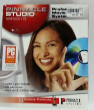 Pinnacle Studio Version 8 Professional Movie Making System Computer Software