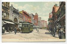 BUSINESS DISTRICT,WHITEHALL ST LOOKING N FROM MITCHELL AVE~ATLANTA,GA -PM 1908