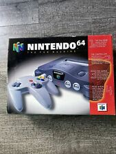 Nintendo 64 Console 1996  - Complete and in Original Packaging