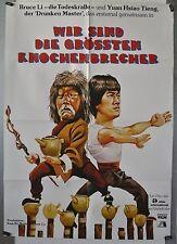 L07 - Kung Fu - WIR SIND DIE GRÖSSTEN KNOCHENBRECHER - Orig. Kinoplakat