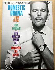 ETHAN HAWKE/UMA THURMAN UK Times Mag 1 day issue Nov'15  INTERVIEW+PICS+++   Ex!