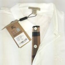 New Burberry Brit Mens White Short Sleeve Check Polo Shirt M,L,XL,XXL