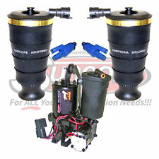 2003-2004 Mercury Marauder Rear Air Spring Bags, Solenoids & Compressor Kit