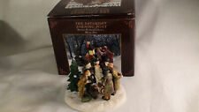 Norman Rockwell Collection Christmas Carol The Saturday Evening Post Figurines