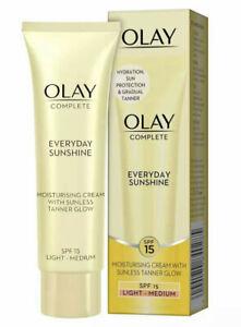 OLAY Complete Everyday Sunshine - Moisturising Cream with Sunless Tanner, SPF15