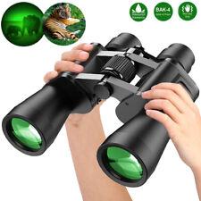 100x180 Zoom Binoculars Night Vision Auto Focus Bak4 Fmc Waterproof Fogproof+Bag