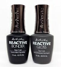 Artistic Reactive - Bonder (Base) + Gloss (Top) DUO -  0.5oz