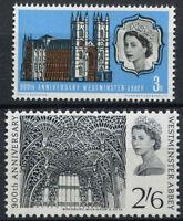 GB QEII 1966 SG#687-8, 900th Anniv Of Westminster Abbey MNH Set #A96381