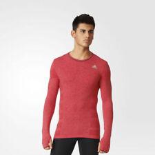 Abbigliamento da uomo rossi adidas Maglia per palestra, fitness, corsa e yoga