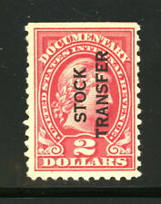 US Revenue Stamp Scott RD31 Stock Transfer Perf 10 1928 Issue MNG 8H26 15
