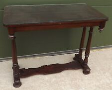 Mahogany Hall Table Console Table in the Antique Victorian Style