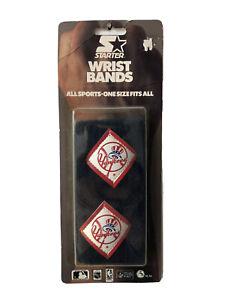 vintage new york yankees starter wristbands sweatbands adult OSFA deadstock NIP