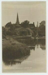 River Thames, Abingdon Judges 6215 (faults) Postcard, C038