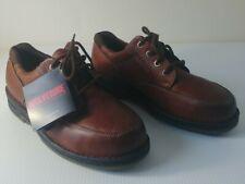New listing Wolverine Ew04501 Brown Mens DuraShocks Steel-Toe Oxford Work Shoe 9 1/2 Us