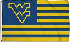 West Virginia Mountaineers 3' x 5' Flag (Stripes) Ncaa Licensed