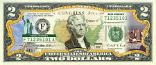 NEW JERSEY State/Park COLORIZED Legal Tender U.S. $2 Bill w/Security Features