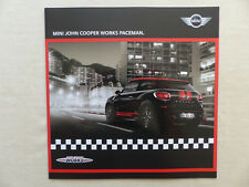 MINI JCW John Cooper Works paceman MJ 2013-folleto brochure 11.2012