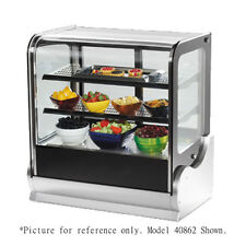 "Vollrath 40866 48"" Countertop Heated Display Case - Cubed Case"