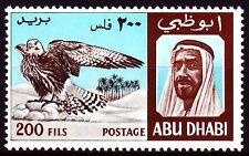 Abu Dhabi 1967 ** Mi.35 Vögel Birds Falke Falcon