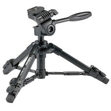 Velbon EX-Macro D-SLR RF Mirrorless Camera Table Top Mini Tripod w/ Case & Head