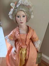 Franklin Mint Heirloom Martha Washington collectible doll
