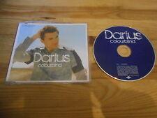 CD Pop Darius - Colourblind (1 Song) Promo MERCURY sc