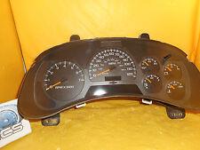 Speedometer Instrument Cluster Dash 02 03 04 Trailblazer EXT with 151,123 Miles