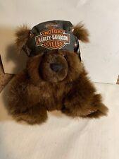 "Harley Davidson Plush 18"" Bear Headband Stuffed Animal 2000 Cavanagh"