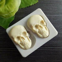 3D Skeleton Skull Head Silicone Mold DIY Candy Cake Decoration Mold Baking To YK