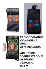 TELECOMANDO APRICANCELLO COMPATIBILE CON APRIMATIC TG4M 30.900 MHZ 4 CANALI