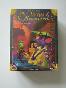 Die Ameise & die Heuschrecke - Asmodee NEU&OVP - Familienspiel