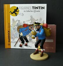"""LARGE 5"""" TINTIN FIGURINE """"OFFICIAL COLLECTION"""" #M034 HADDOCK EN ALPINISTE"""